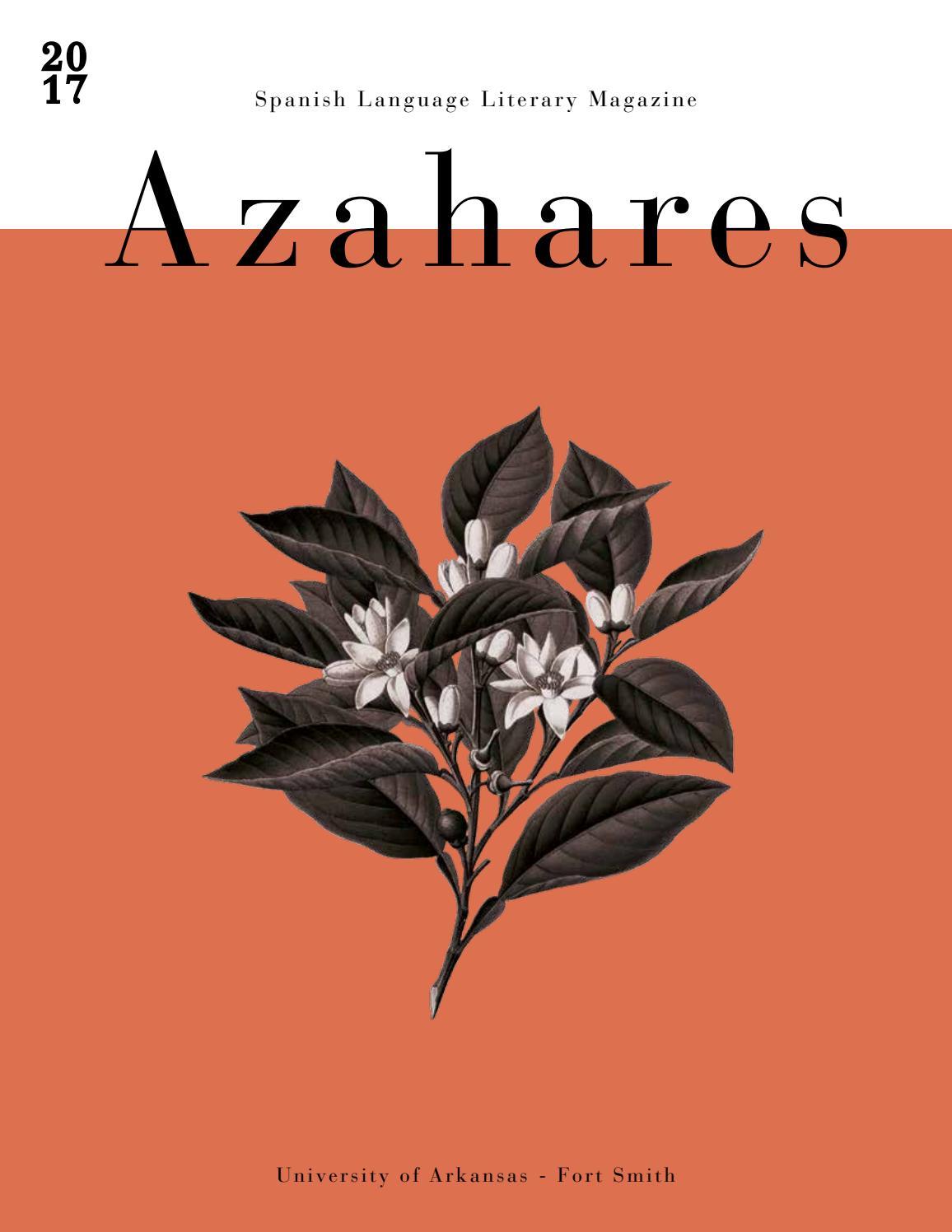 Azahares 2017 by University of Arkansas - Fort Smith - issuu