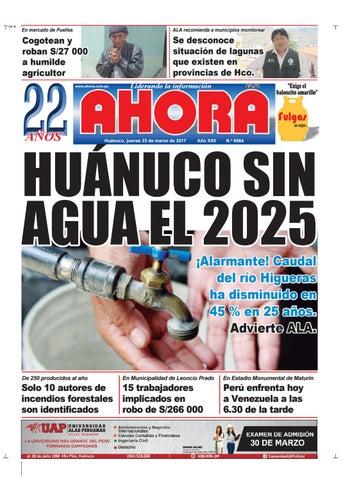 Edición diario ahora 23 03 2017 by Diario Ahora Huánuco - issuu 0256374452c