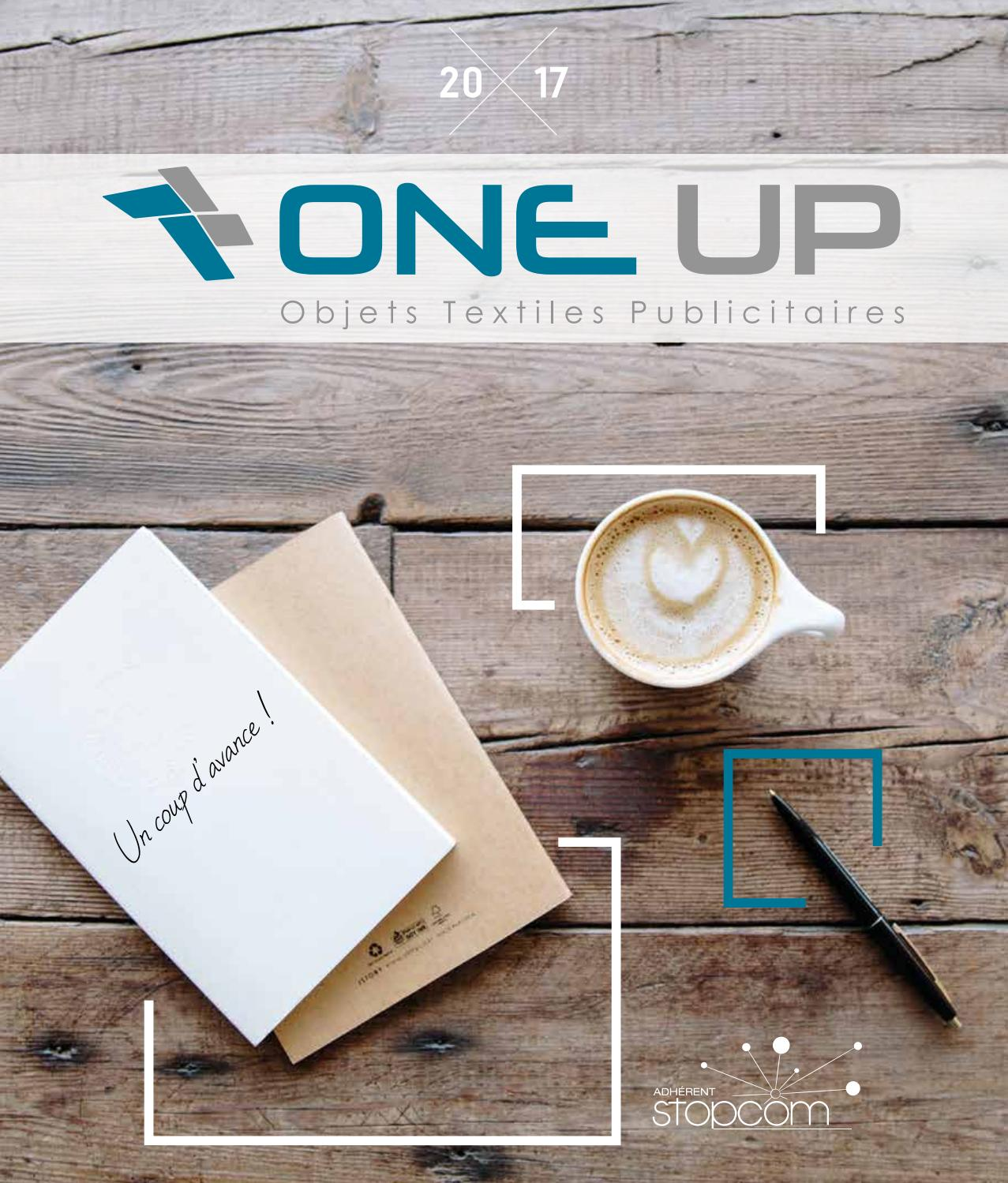 One up catalogue 2017 objets   textiles publicitaires by Objectif Goodies -  issuu b4f5028fc82