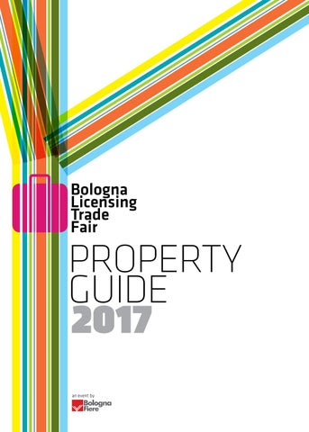 Bologna Licensing Trade Fair - Property Guide 2017 by Bolognafiere ... 53b2b8f0011