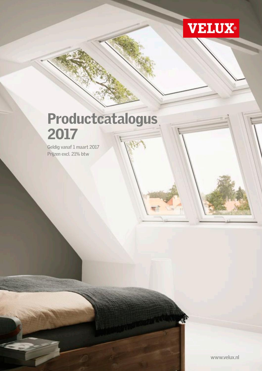 Velux productcatalogus 2017 by velux nederland b v issuu for Listino finestre velux 2017