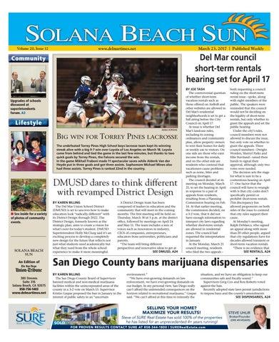 1267715d4b Solana beach sun 03 23 17 by MainStreet Media - issuu
