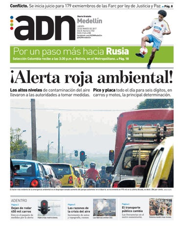 903e03faa 23 de marzo Medellín by diarioadn.co - issuu