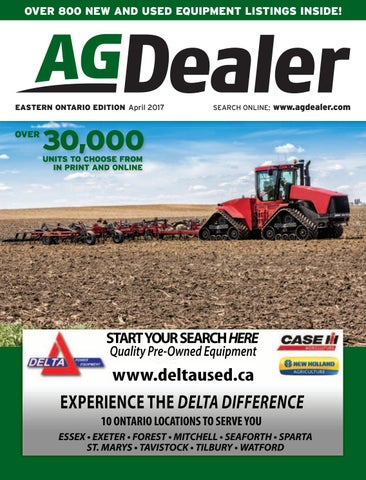AGDealer Eastern Ontario Edition, April 2017 by Farm