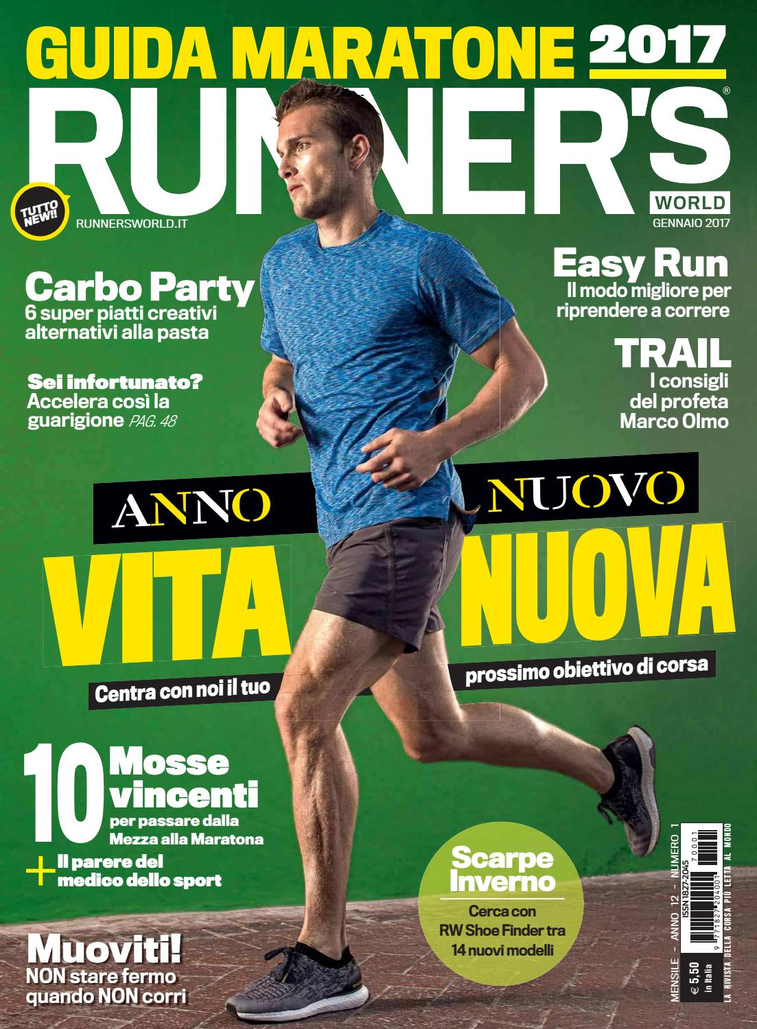 Runners world italia Gennaio 2017 by Bookfree - issuu bbe1cc8b510