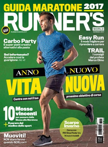 Runners world italia Gennaio 2017 by Bookfree - issuu 1a1c42365bd