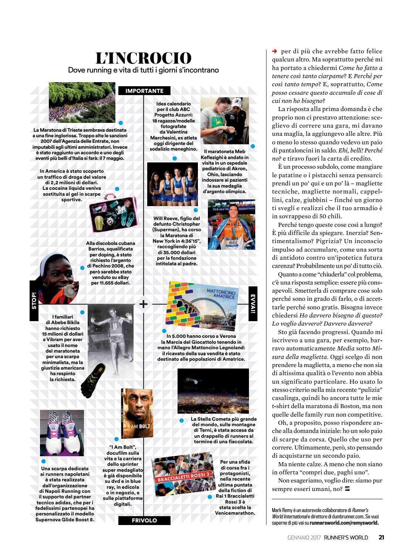 Il Maratoneta Calendario.Runners World Italia Gennaio 2017 By Bookfree Issuu