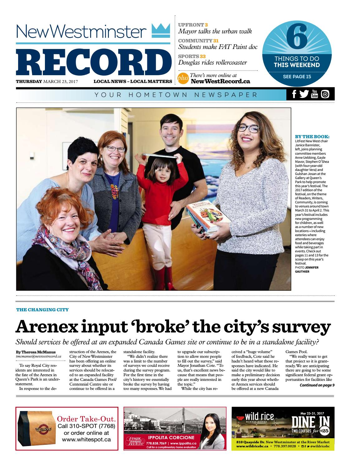 New Westminster Record March 23 2017 By Royal City Record Issuu