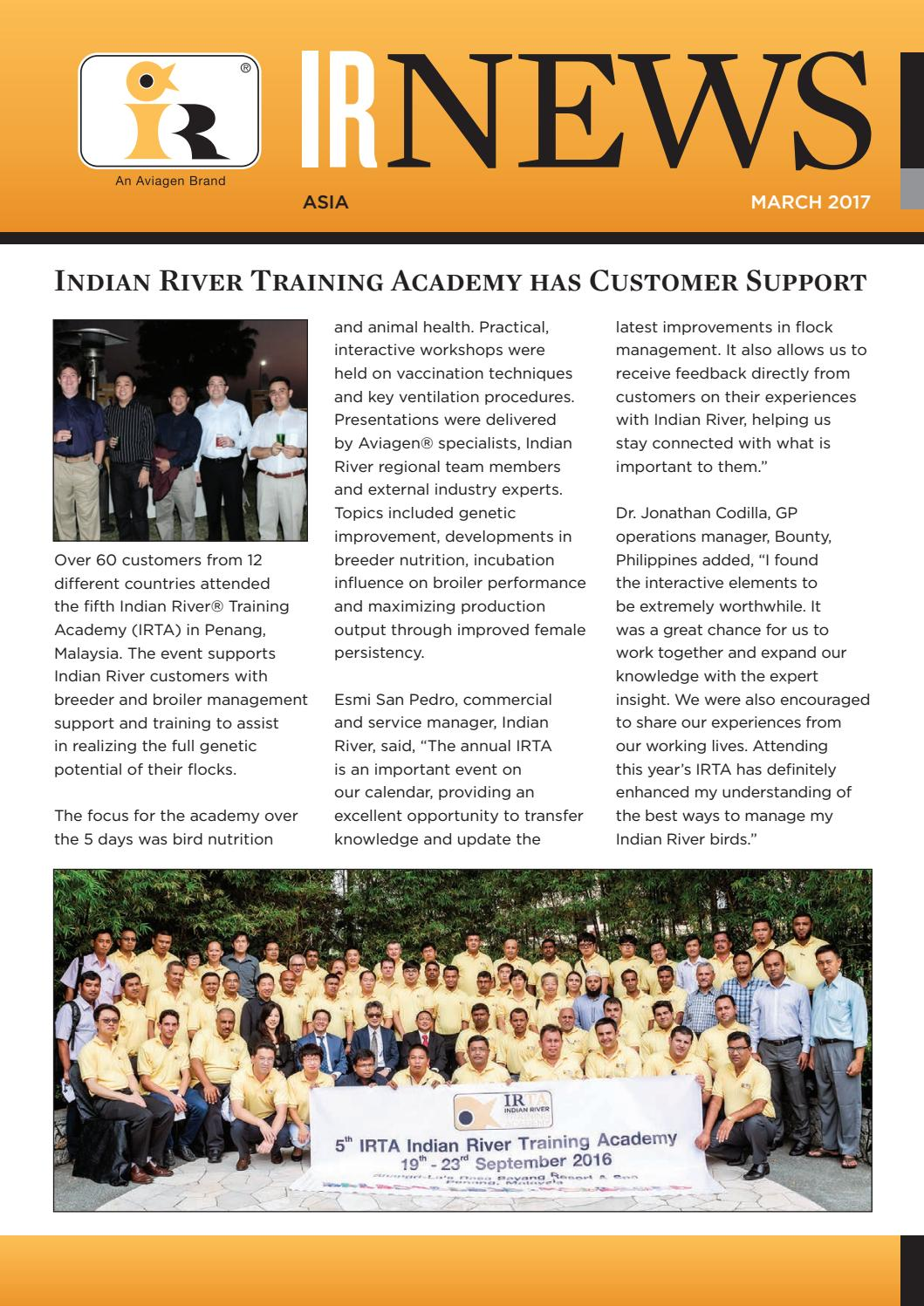 Indian River News - March 2017 by Aviagen - issuu