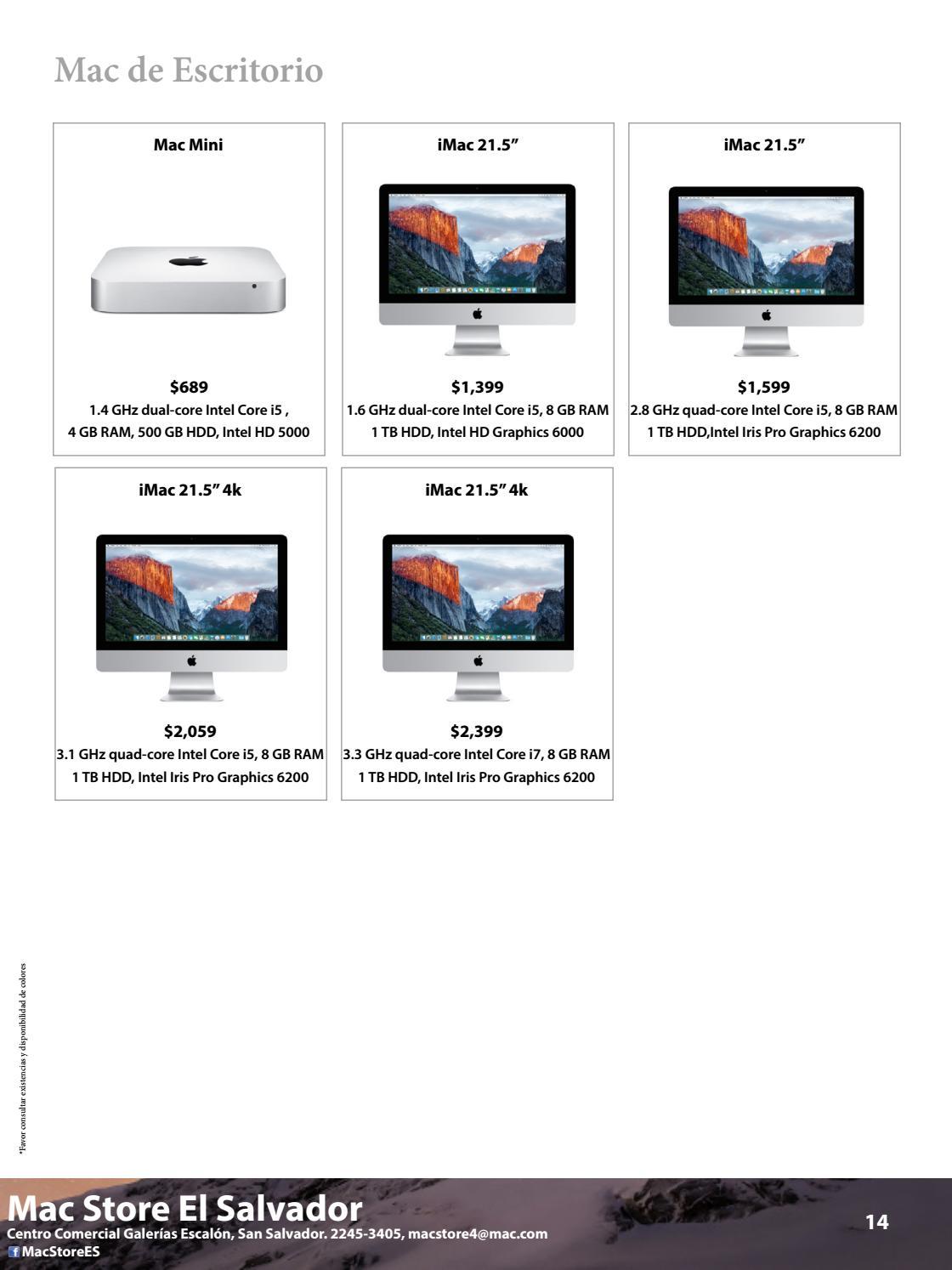 Catálogo Abril 2017 by Mac Store - issuu