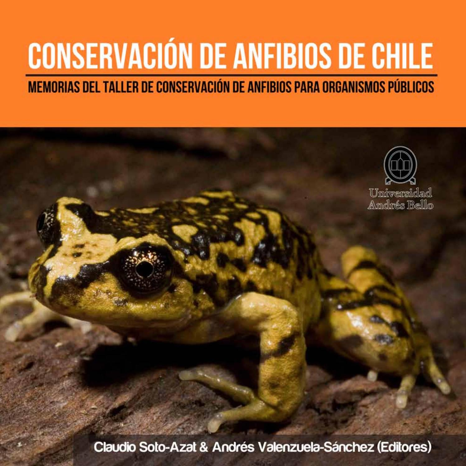 Conservación de Anfibios de Chile by Universidad Andres Bello - issuu