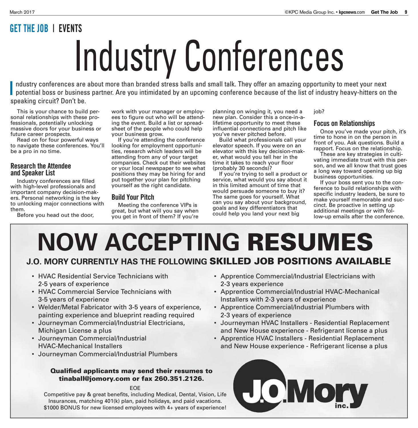 Get the job march 2017 by kpc media group issuu malvernweather Image collections