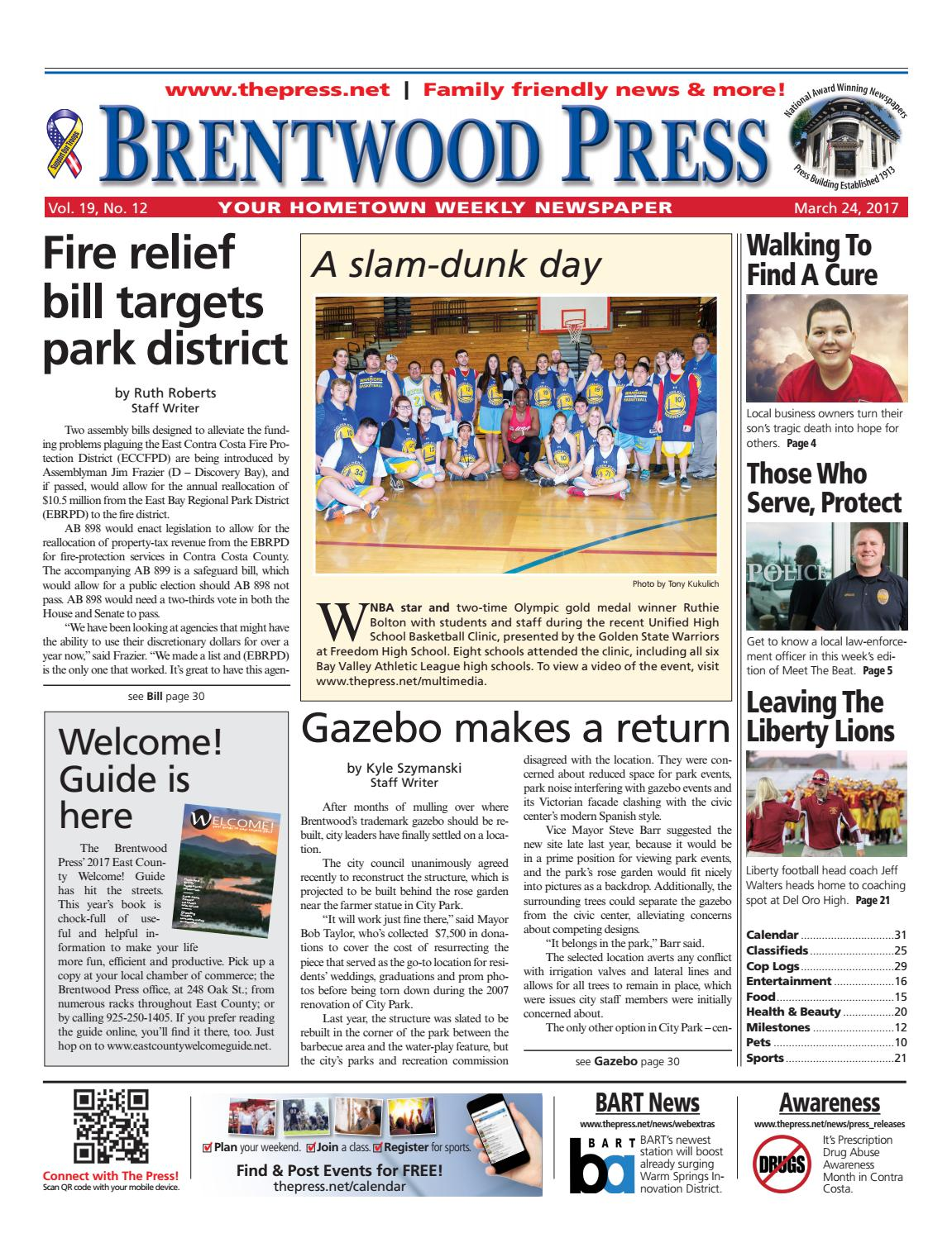 16efe648d7f4 Brentwood Press 03.24.17 by Brentwood Press   Publishing - issuu