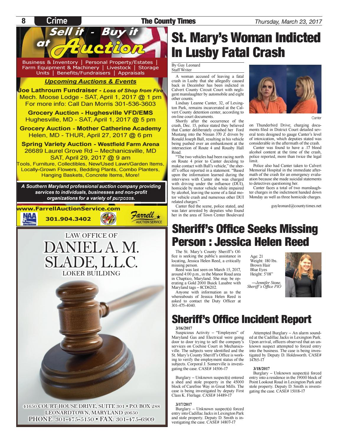 2017-03-23 St  Mary's County Times by Southern Maryland Online - issuu