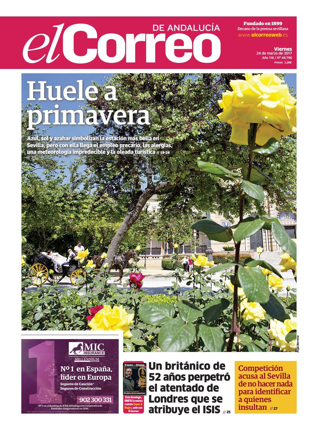 24 03 2017 El Correo de Andalucía by EL CORREO DE ANDALUCÍA S.L. - issuu