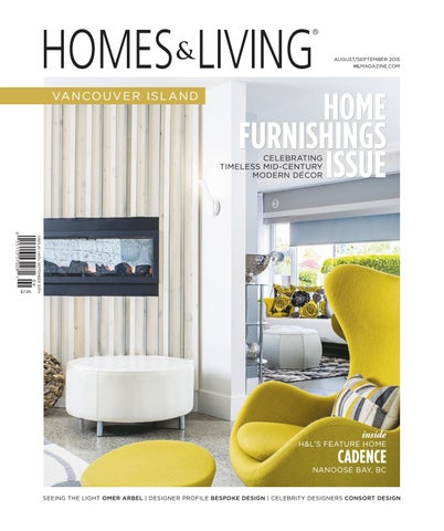 Homes Living Vancouver Island Aug Sept 2015 By Interior