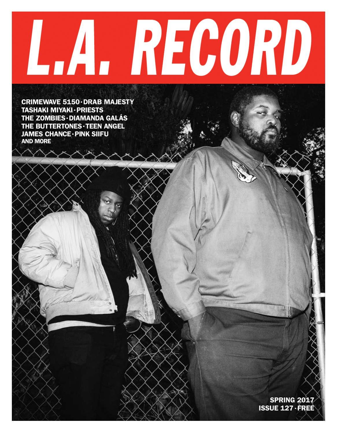 5ff4b2c27f3e L.A. RECORD ISSUE 127 by L.A. RECORD - issuu