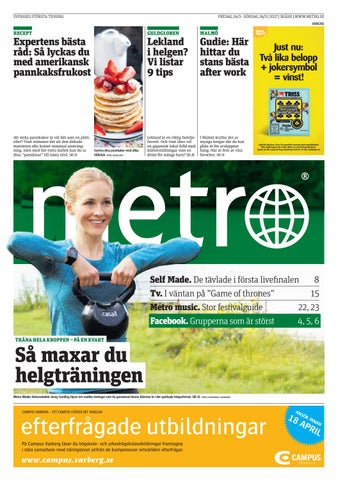 new style 3d3b0 861a4 20170324 se malmo by Metro Sweden - issuu