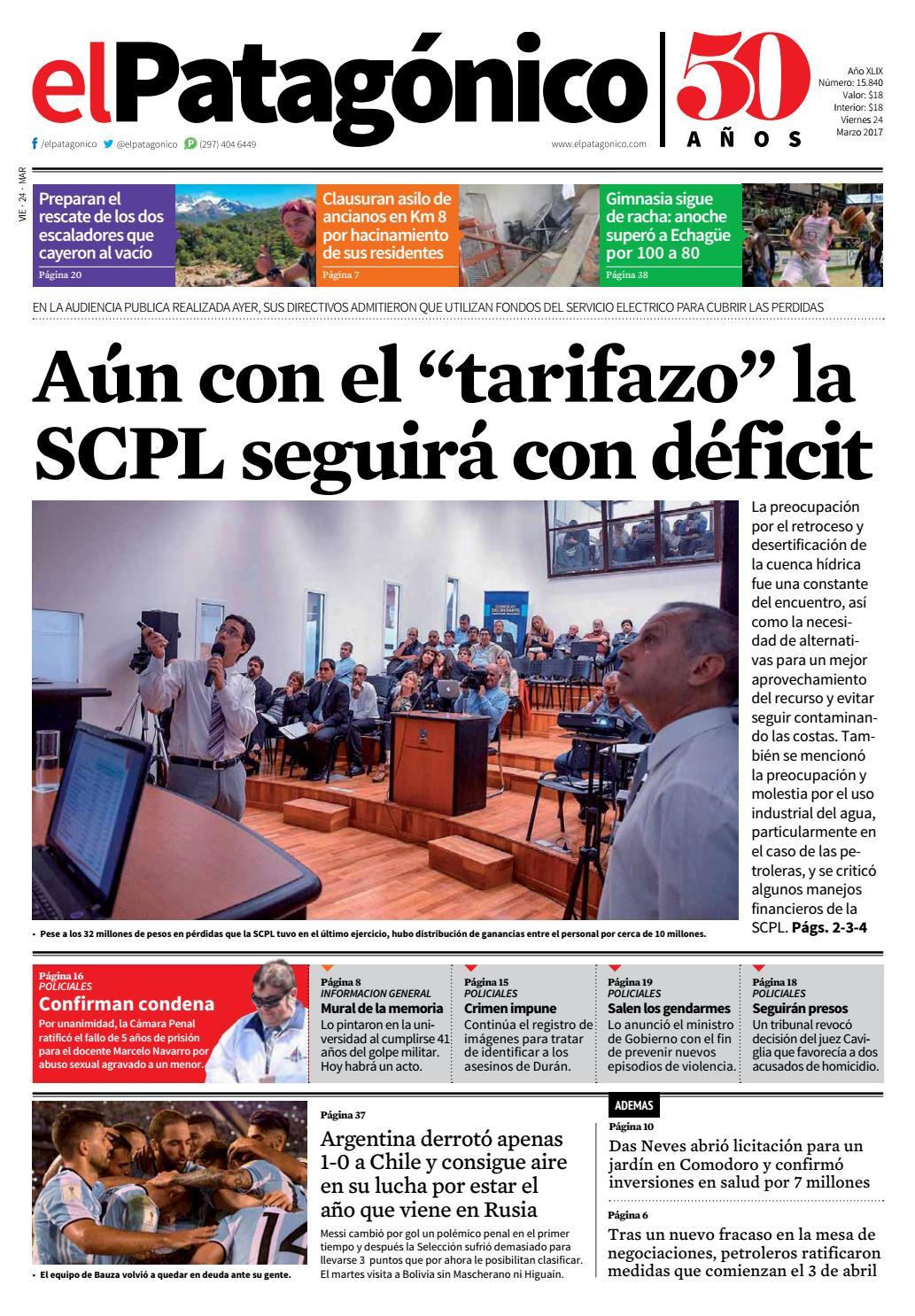 By el patagonico issuu for Asilo de ancianos pdf