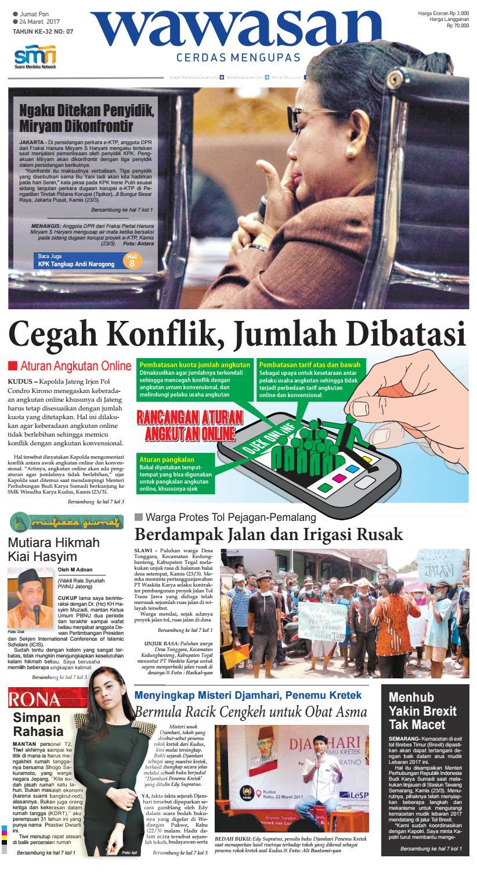 Wawasan 24 Maret 2017 By Koran Pagi Issuu Produk Ukm Bumn Bakso Ikan Tuna Khas Ambon