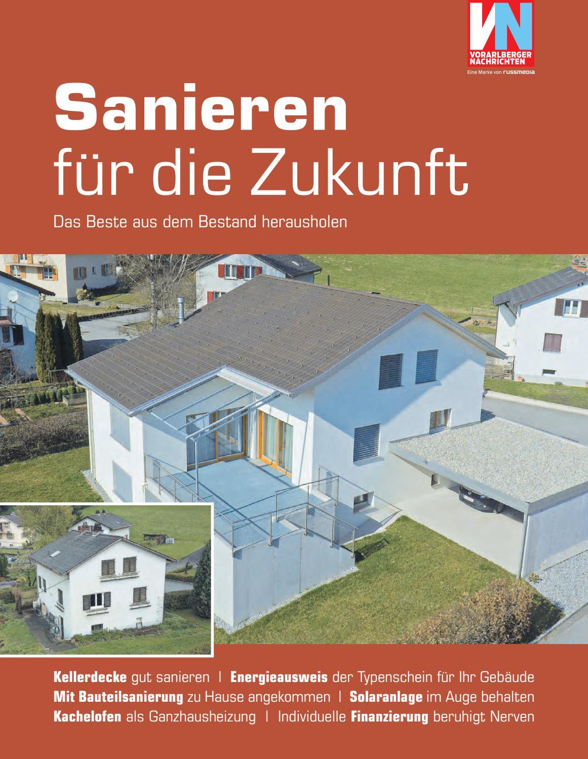 Elegant 2017 03 25 Sanieren Für Die Zukunft By Russmedia Digital GmbH   Issuu