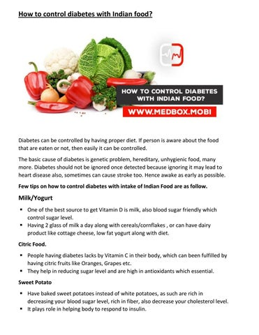 How to control diabetes with indian food by sameerk issuu how to control diabetes with indian food forumfinder Choice Image