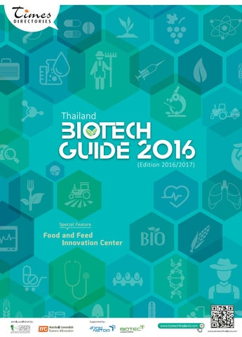 Thailand Biotech Guide 2016 (Edition 2016/2017) by Green World