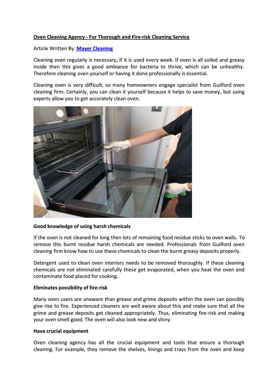 Oven cleaning agency for thorough and fire risk cleaning service by oven cleaning agency for thorough and fire risk cleaning service by dipen hill issuu solutioingenieria Gallery