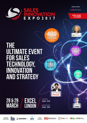Sales innovation expo 2017 show guide by prysm group issuu page 1 malvernweather Image collections