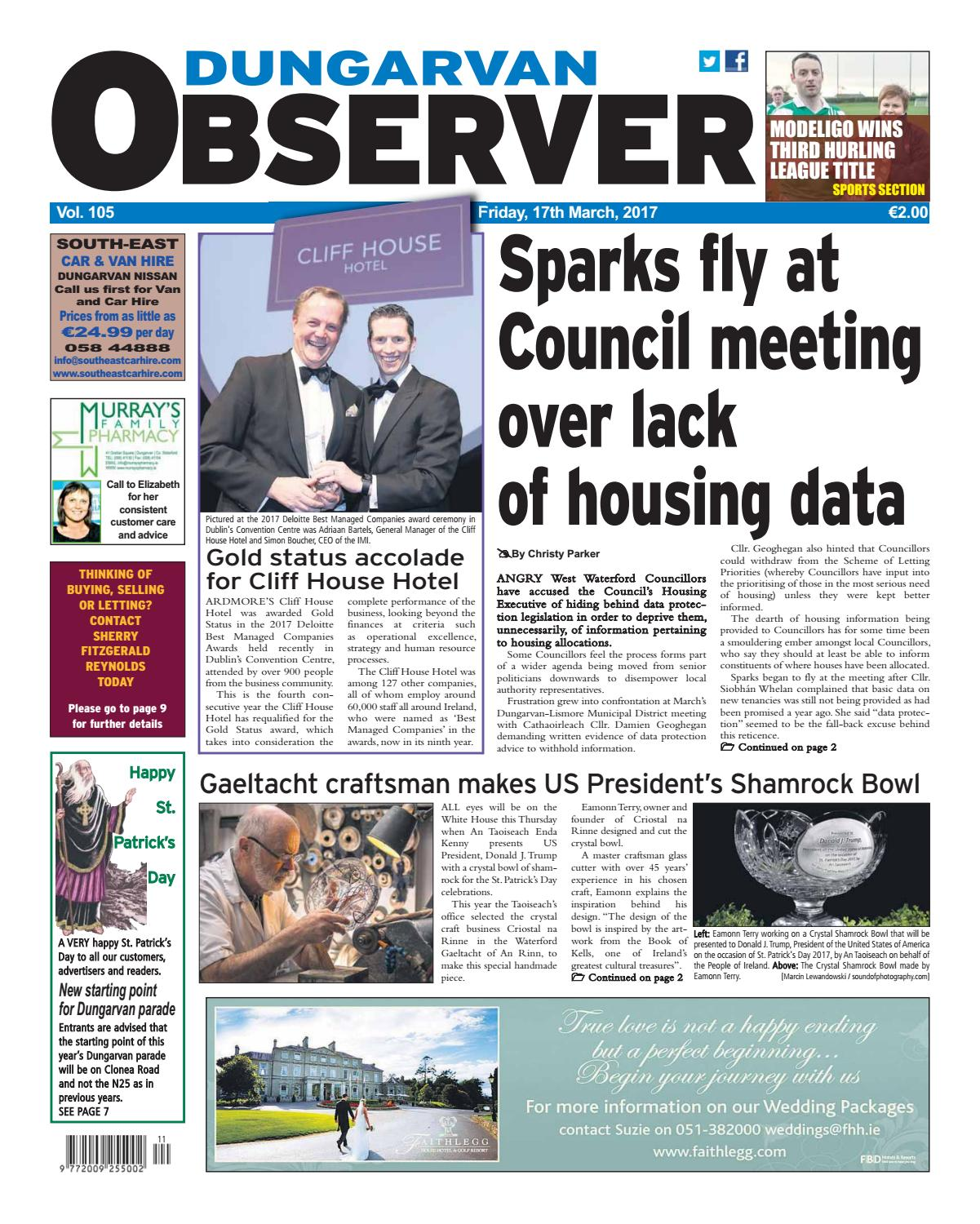 44ad068bc14 Dungarvan observer 17 3 2017 edition by Dungarvan Observer - issuu