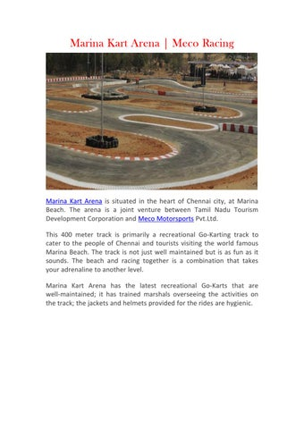 Kart Arena Go Kart Chennai Racing Go Kart Meco Motorsports By