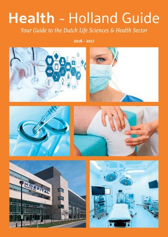 Health~Holland Guide 2016-2017 by Industrielinqs pers en