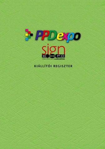 8b6cb188cd Ppdexpo signexpo 2017 by Viktória Faludi - issuu