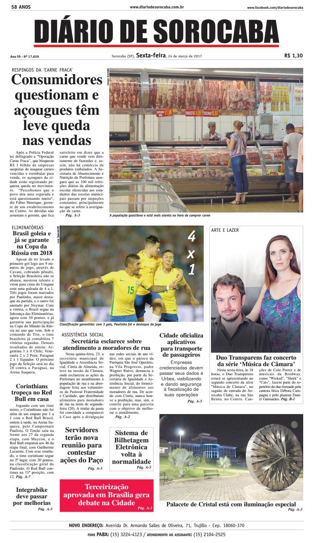 Edição 24 de março de 2017 by DIÁRIO DE SOROCABA - issuu 79112e8949913
