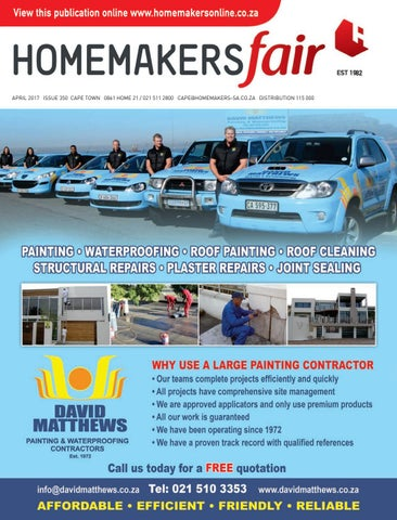 Homemakersfair Cape Town April 2017 By Homemakers Issuu