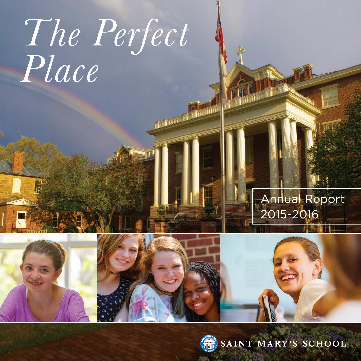 Ina Mae Spivey Top saint mary's school annual report | 2015-2016saint mary's