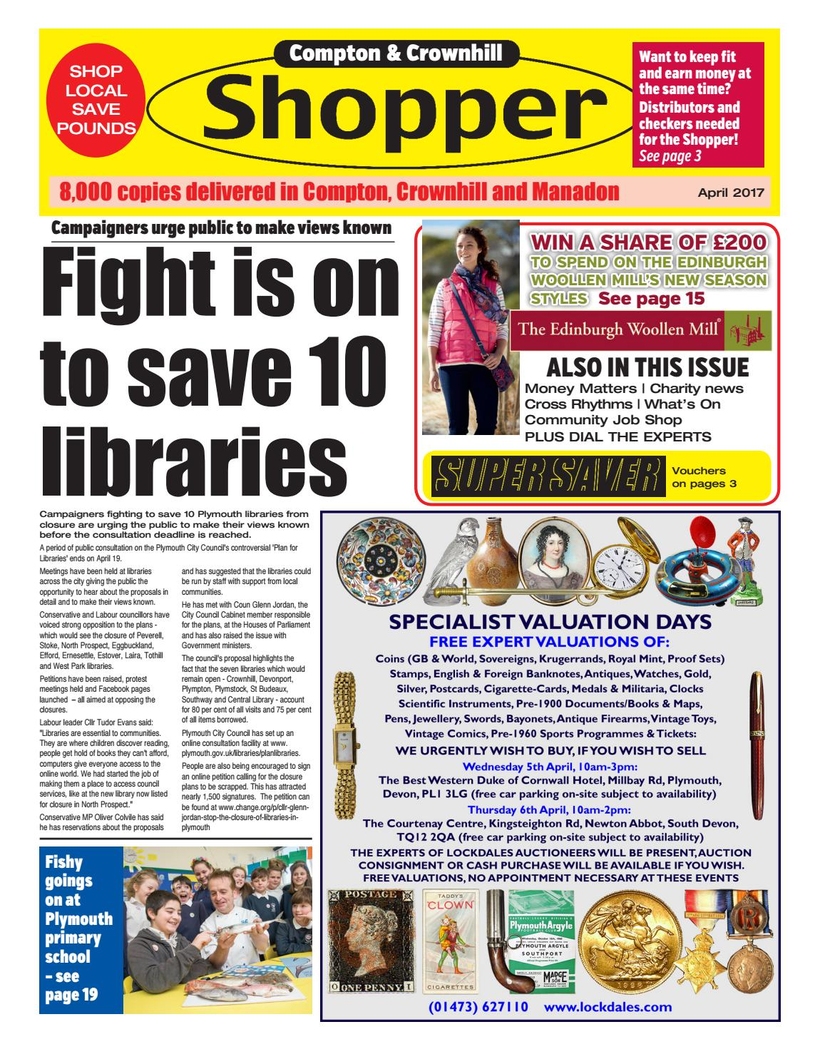 Plymouth Shopper April 2017 by Cornerstone Vision - issuu