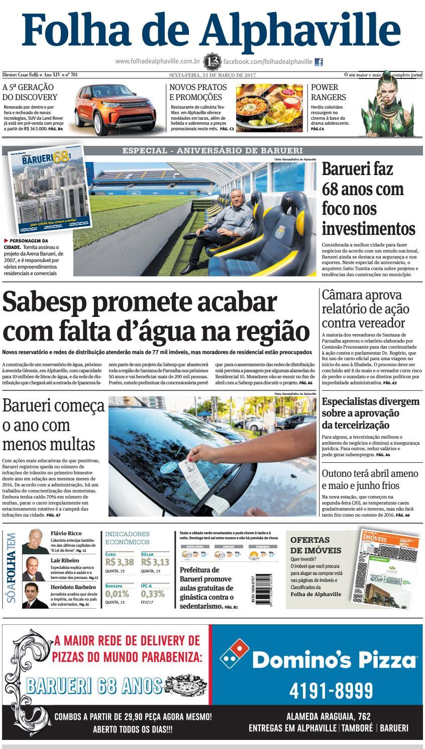 6a07357ea Edicao 703 by Folha de Alphaville - issuu