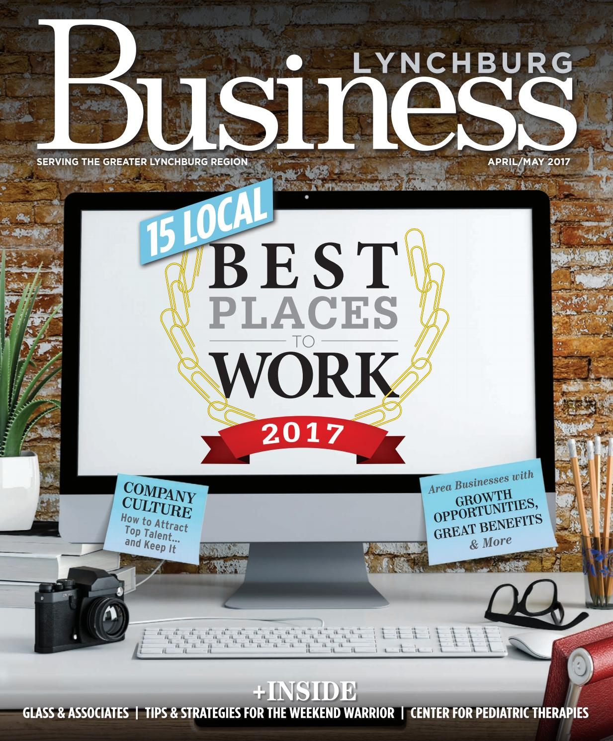 Lynchburg business mag aprilmay 2017 by vistagraphics issuu fandeluxe Gallery