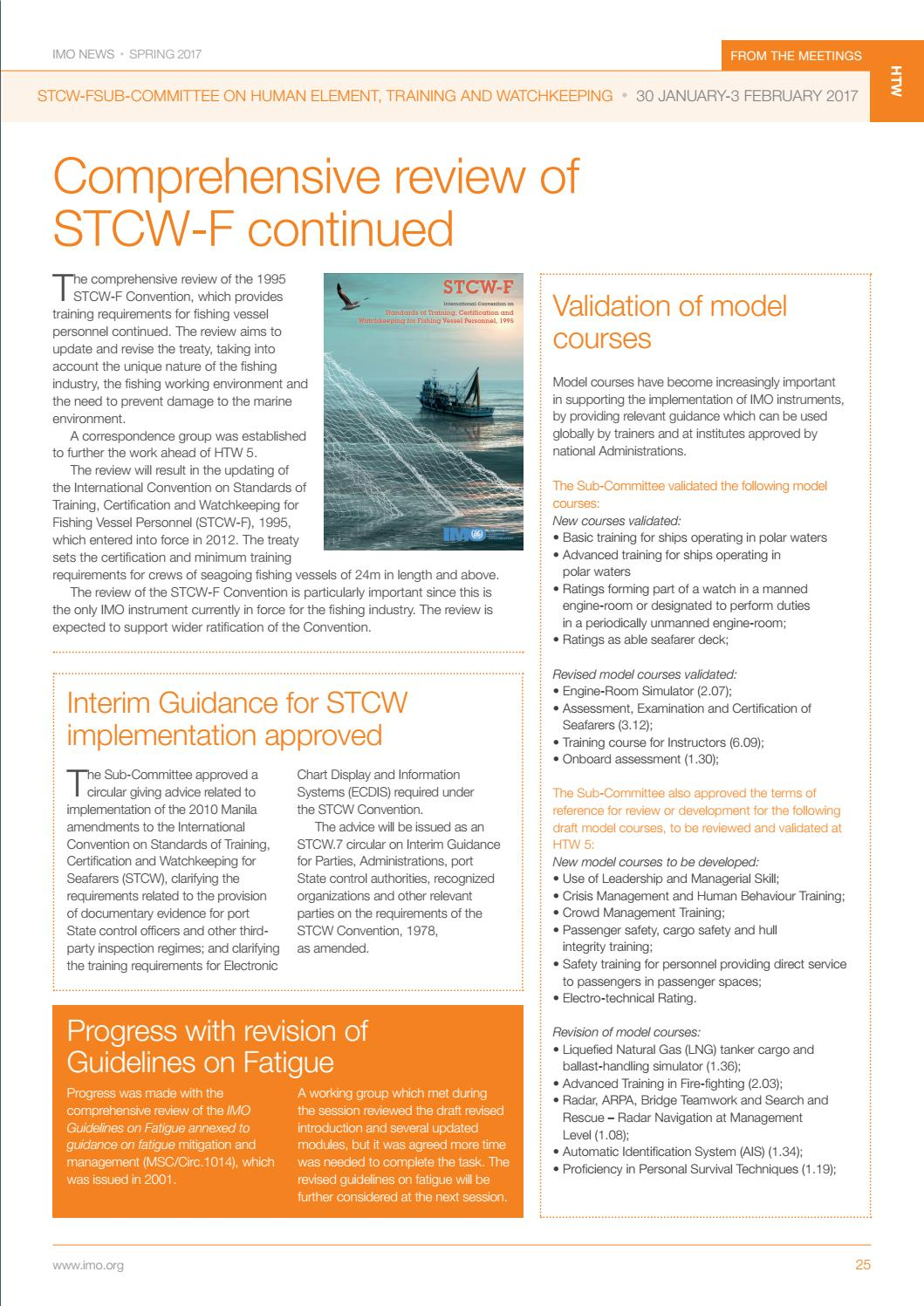 stcw f convention 1995 pdf