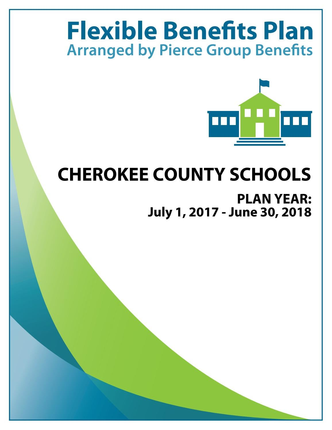 Cherokee County Schools 2017-2018 Plan Year by Pierce ...