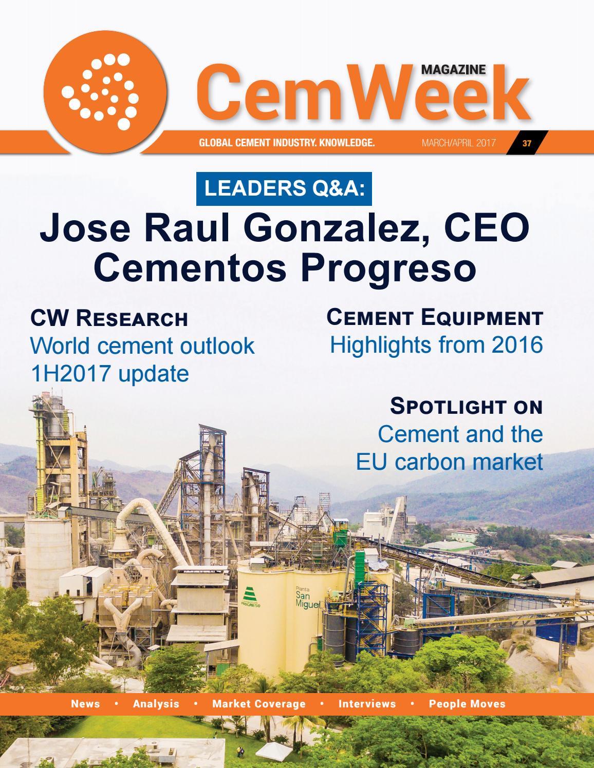 CemWeek Magazine: March/April 2017 by CemWeek - issuu