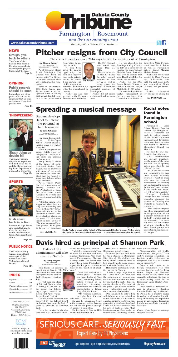 dct3 16 17 by dakota county tribune - issuu