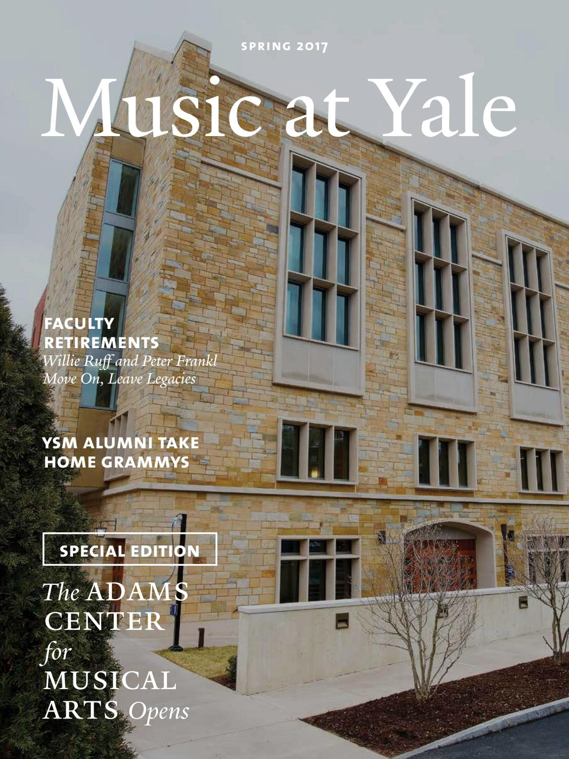 music at yale spring 2017 by yale school of music issuu. Black Bedroom Furniture Sets. Home Design Ideas