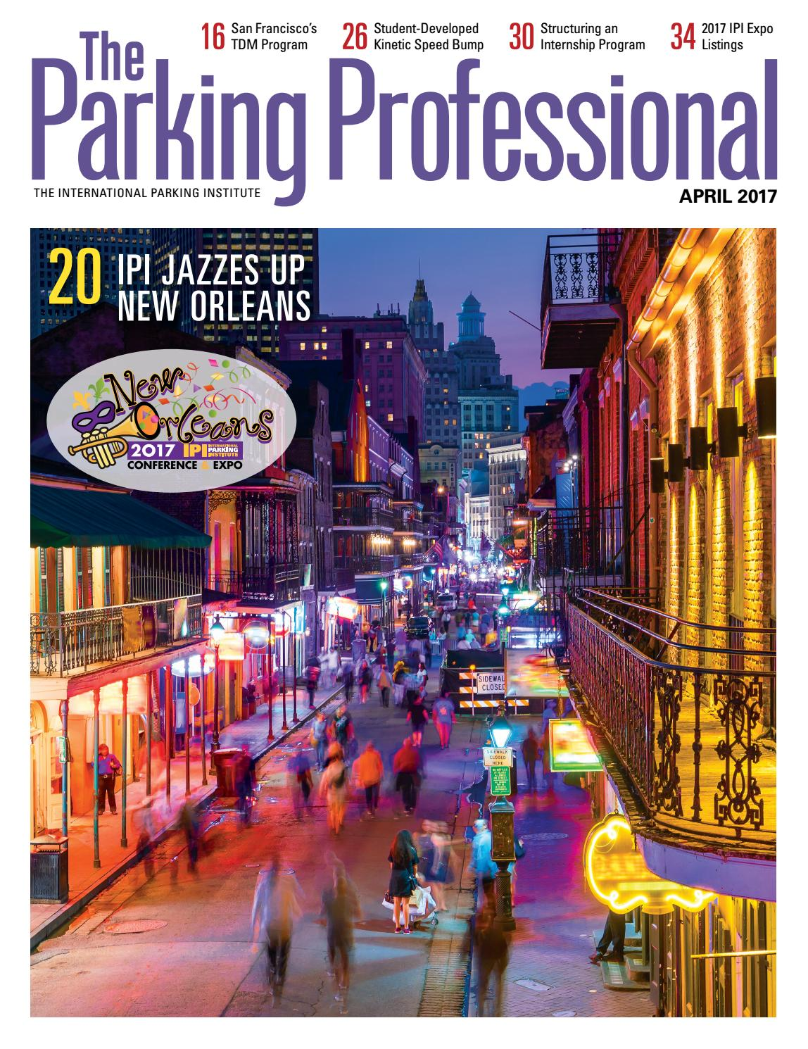 The Parking Professional April 2017 by International Parking