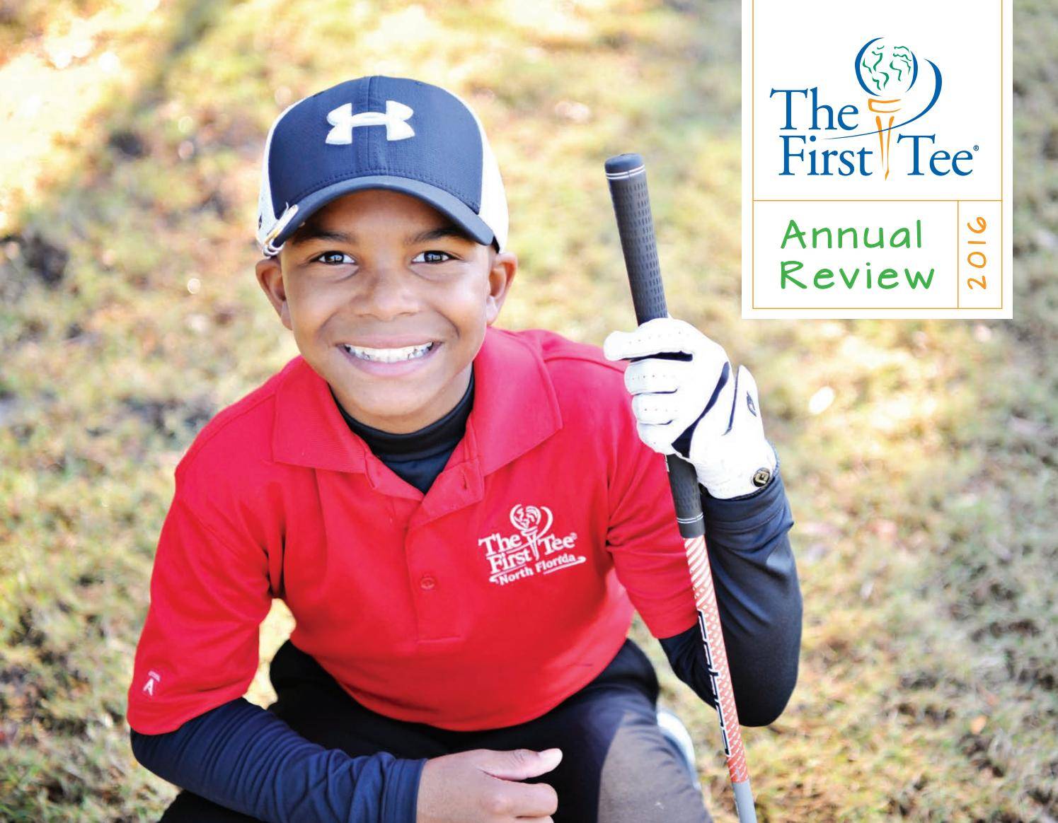 the first tee 2016 annual review by the first tee