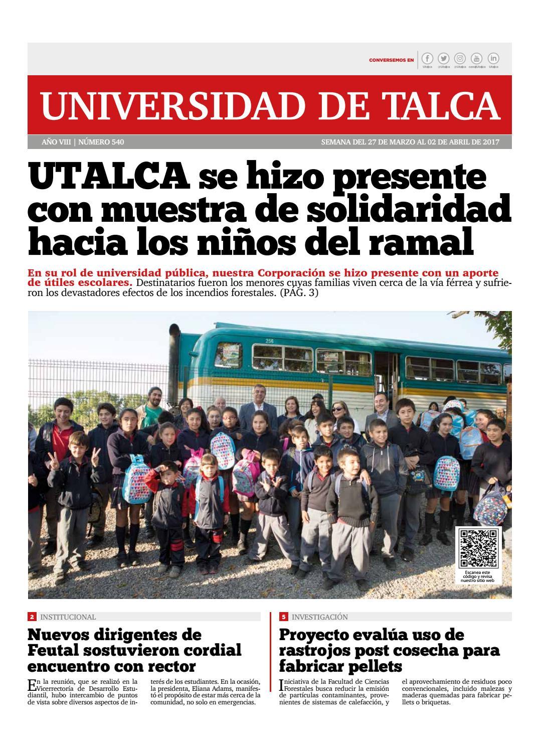 Semanario Digital by Universidad de Talca Chile - issuu