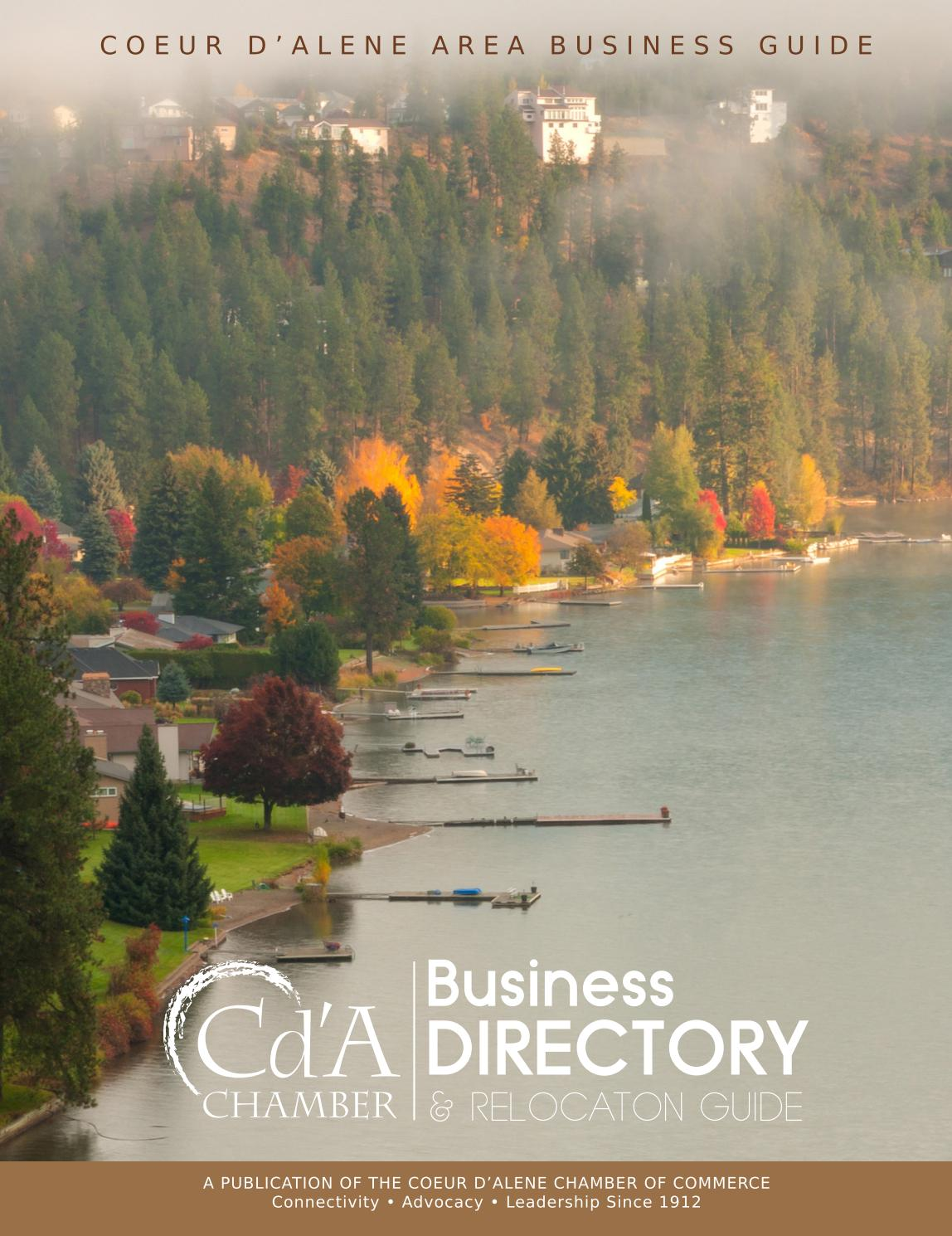 Coeur d'Alene Chamber of Commerce 2017 Business Directory ...