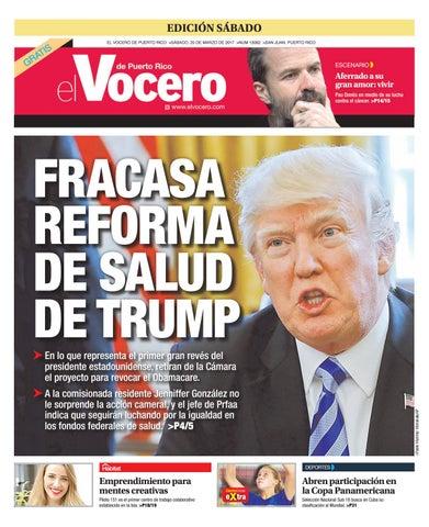 Edición 25 de Marzo 2017 by El Vocero de Puerto Rico - issuu c862c44c1a0d6