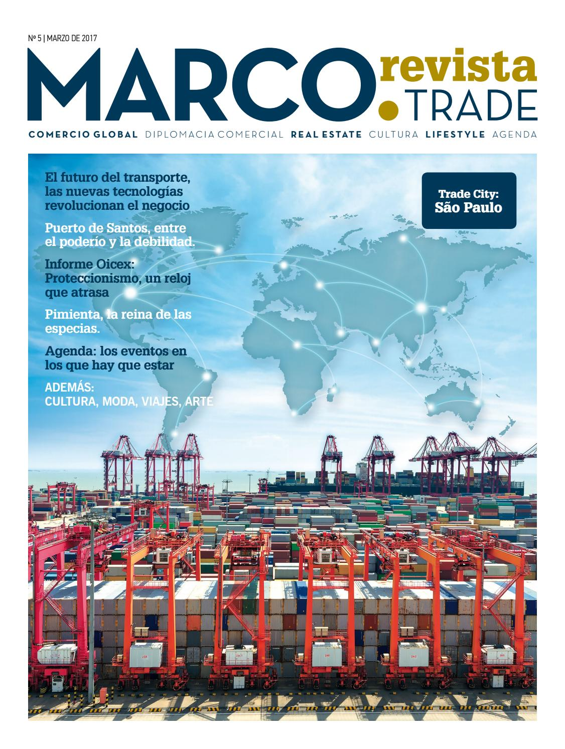 Marco Trade Revista Numero 5 by MARCO TRADE REVISTA - issuu
